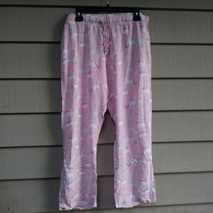 Unicorn Print PJ Bottoms